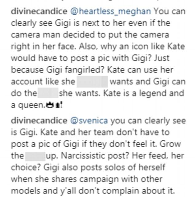 Đăng ảnh chụp với Gigi Hadid, Kate Moss chơi đểu khi cố tình che mặt đàn em - Ảnh 5.