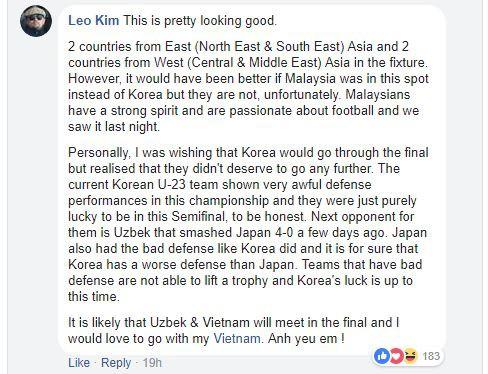 Cộng đồng châu Á dồn dập chúc Hiện tượng U23 Việt Nam vô địch - Ảnh 6.
