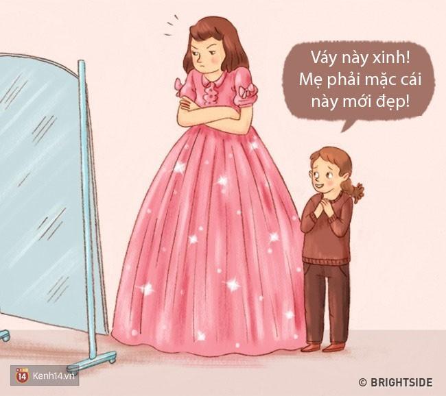 Bộ tranh: Chuyện gì sẽ xảy ra khi bố mẹ và con cái đổi tính cho nhau? - Ảnh 9.
