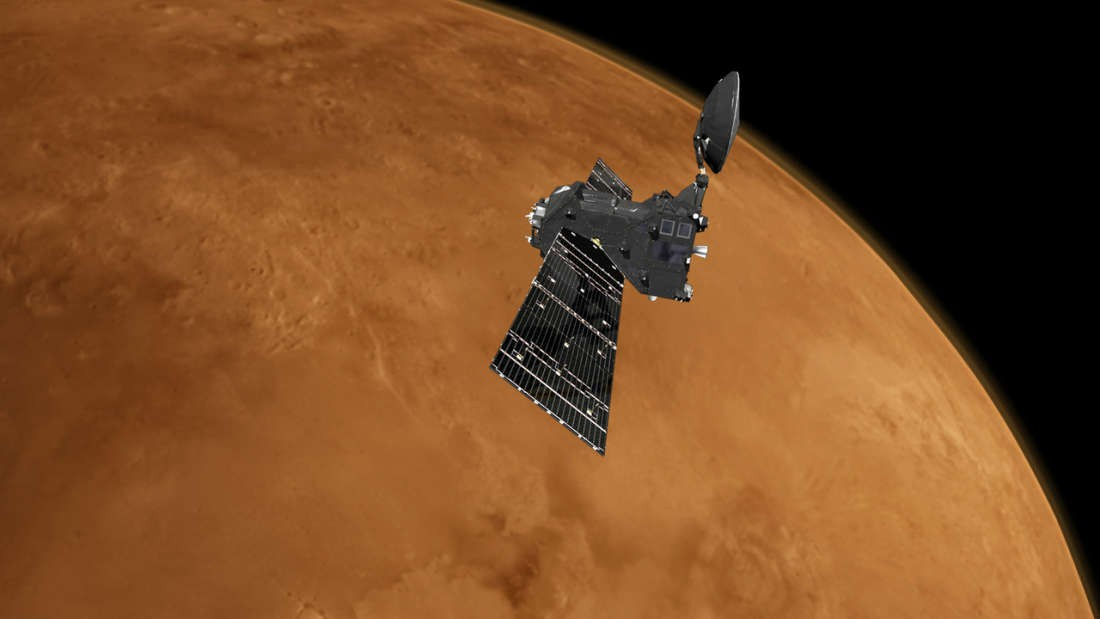 Trace Gas Orbiter - tàu thăm dò của ESA