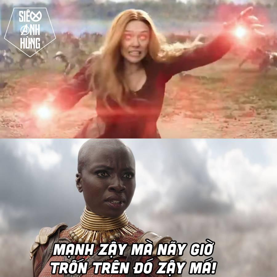 Infinity War khiến fan khoái chí vì biểu cảm mean vô cực của chị đẹp Okoye! - Ảnh 3.
