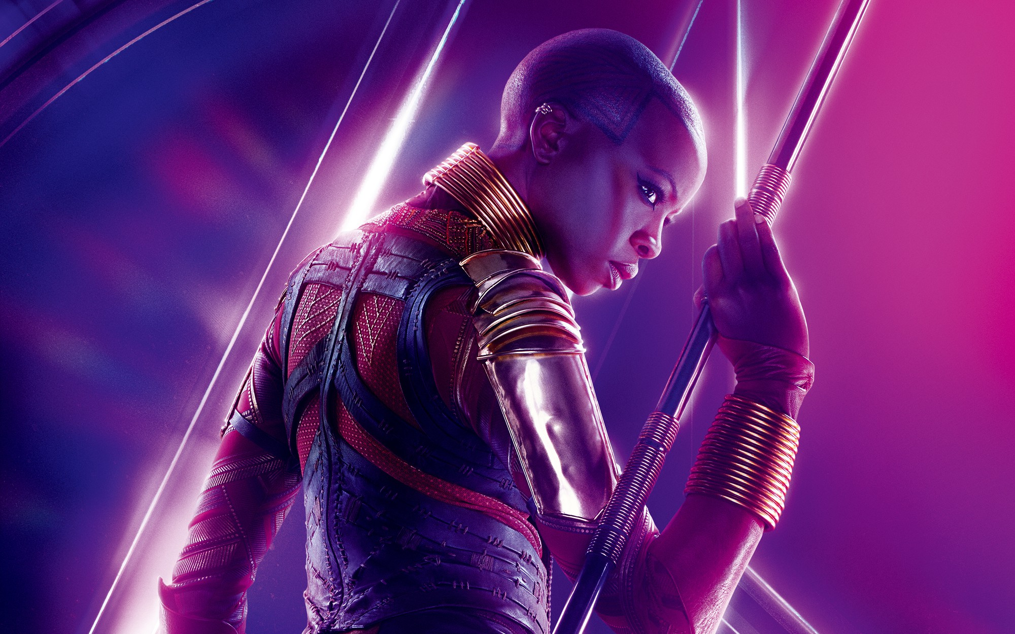Infinity War khiến fan khoái chí vì biểu cảm mean vô cực của chị đẹp Okoye! - Ảnh 7.