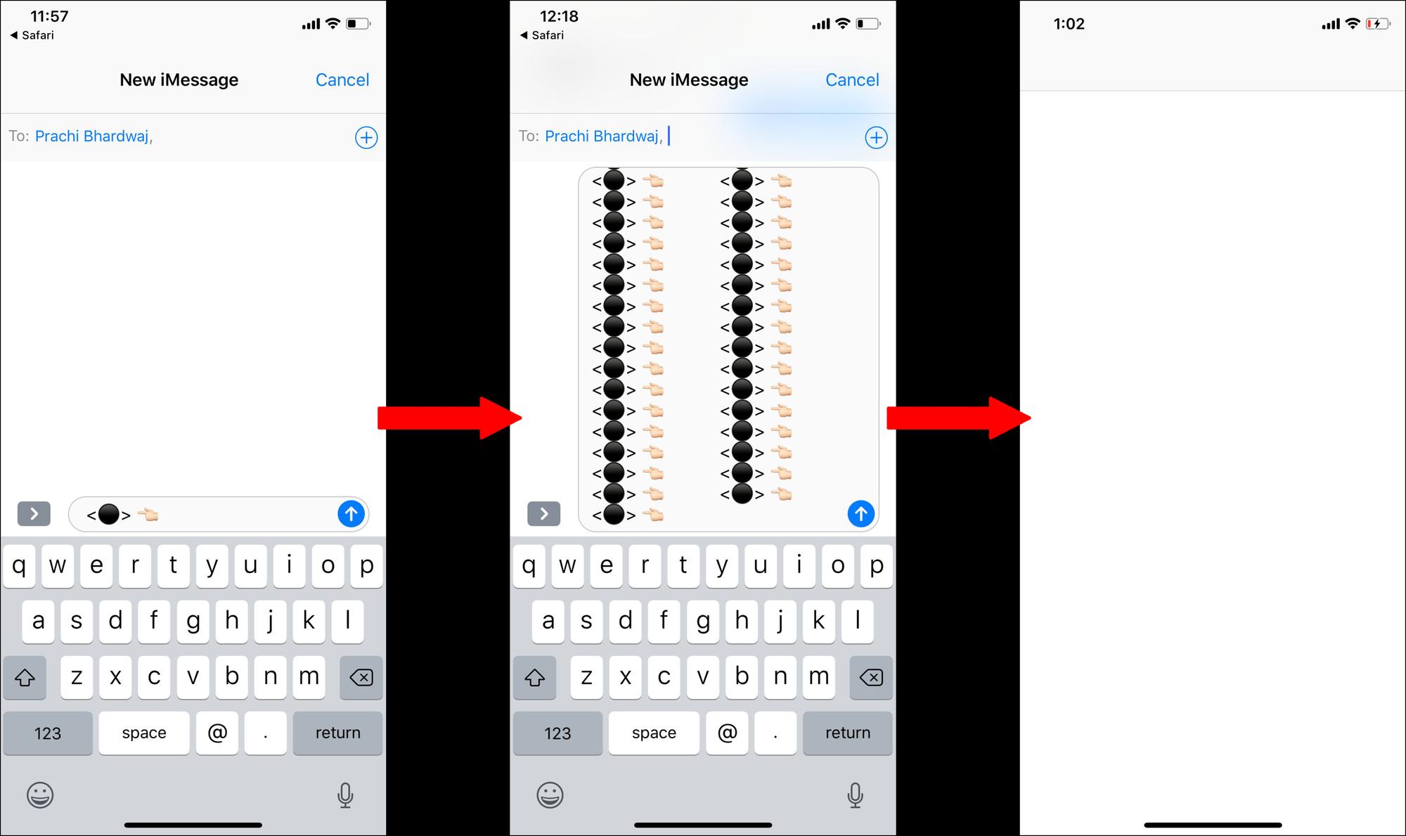 Cảnh báo trò chơi khăm nhắn tin gây lỗi iPhone khiến ứng dụng trở nên trắng xóa - Ảnh 4.