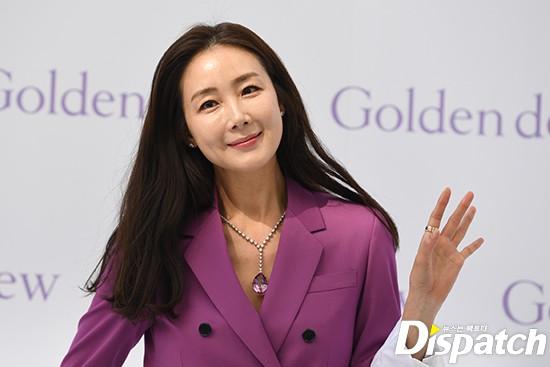 Lần đầu xuất hiện chính thức sau cưới, đại mỹ nhân Choi Ji Woo như bà hoàng tại sự kiện - Ảnh 11.