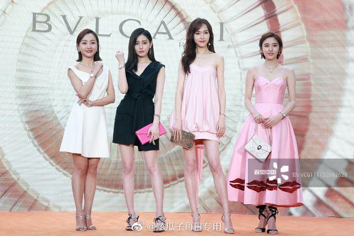 Mặc váy nuốt dáng, Đường Yên xinh thế nào cũng khó mà trông hoàn hảo được - Ảnh 1.