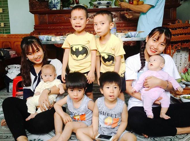 Chuyện thú vị trong gia đình Hải Phòng có tới 4 cặp song sinh - Ảnh 1.