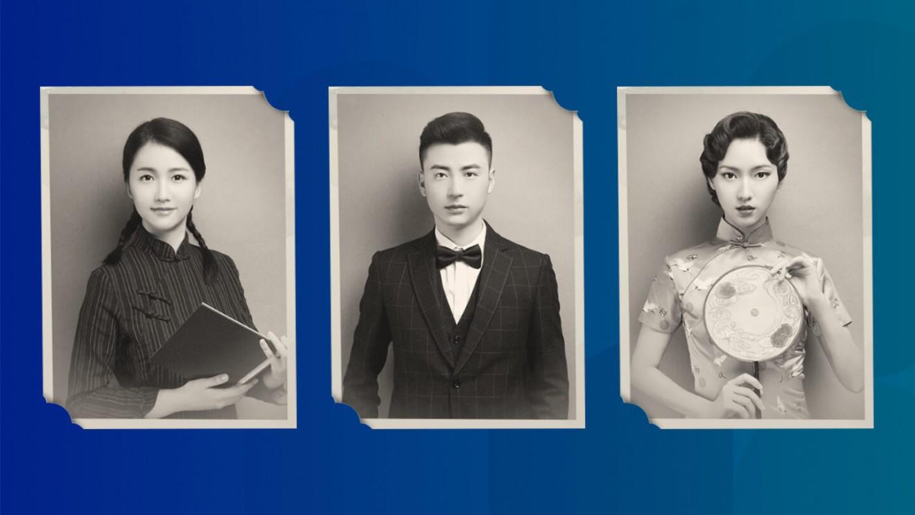 Trào lưu ảnh chân dung hoài cổ đang gây sốt trong giới trẻ Trung Quốc: 500 năm trước trông bạn như thế nào? - Ảnh 3.