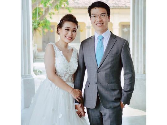 Đám cưới giản dị của Lê Quang Liêm - Ảnh 1.