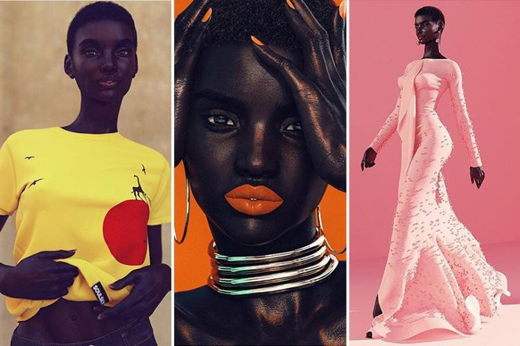 Siêu mẫu da màu thần thái sắc lẹm trên Instagram này hoá ra chỉ là hàng ảo, còn không phải người thật - Ảnh 2.