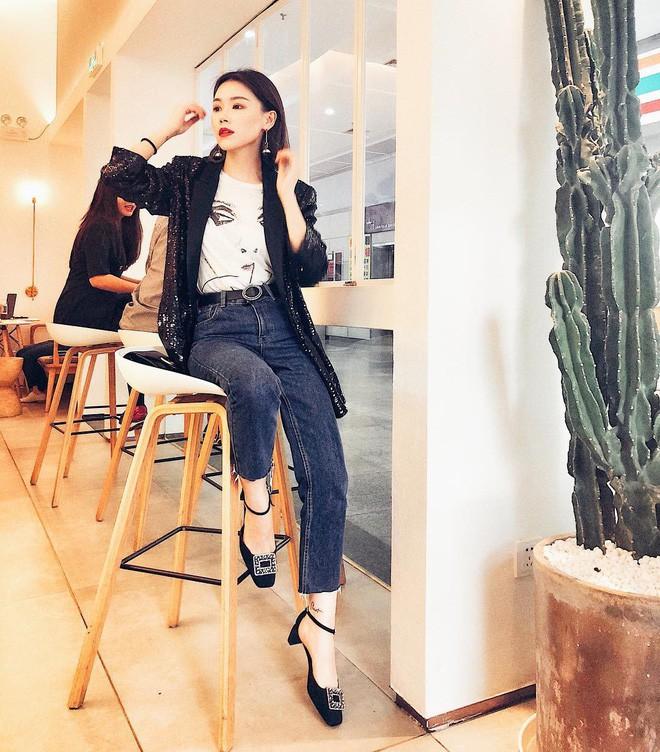 Các quý cô châu Á thi nhau khoe chân dài, eo thon trong loạt street style đầu hè - Ảnh 6.