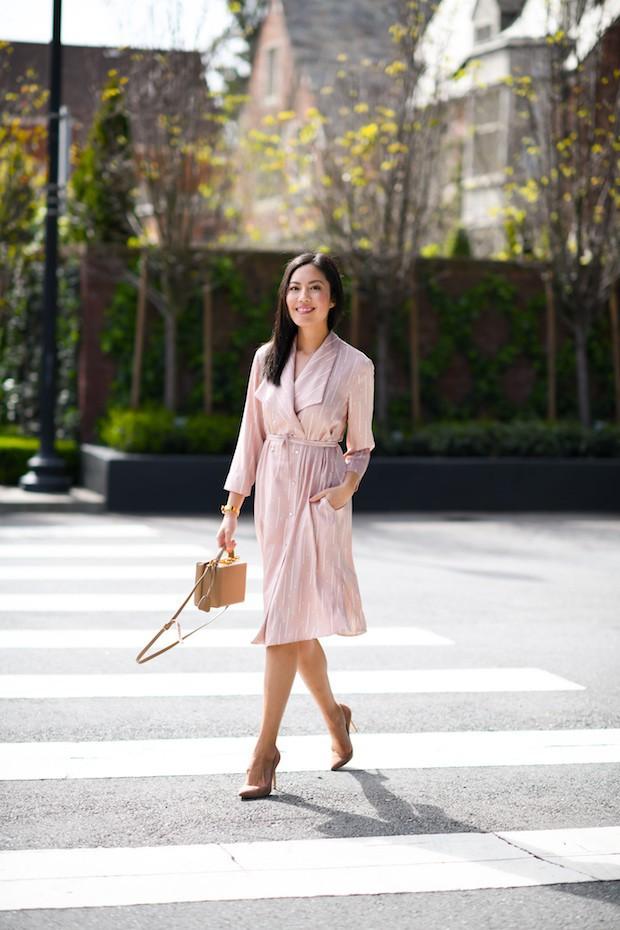 Các quý cô châu Á thi nhau khoe chân dài, eo thon trong loạt street style đầu hè - Ảnh 9.