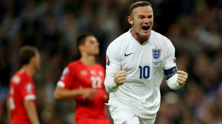 Rooney và những khoảnh khắc lịch sử trong máu áo đội tuyển Anh, Man Utd và Everton - Ảnh 2.