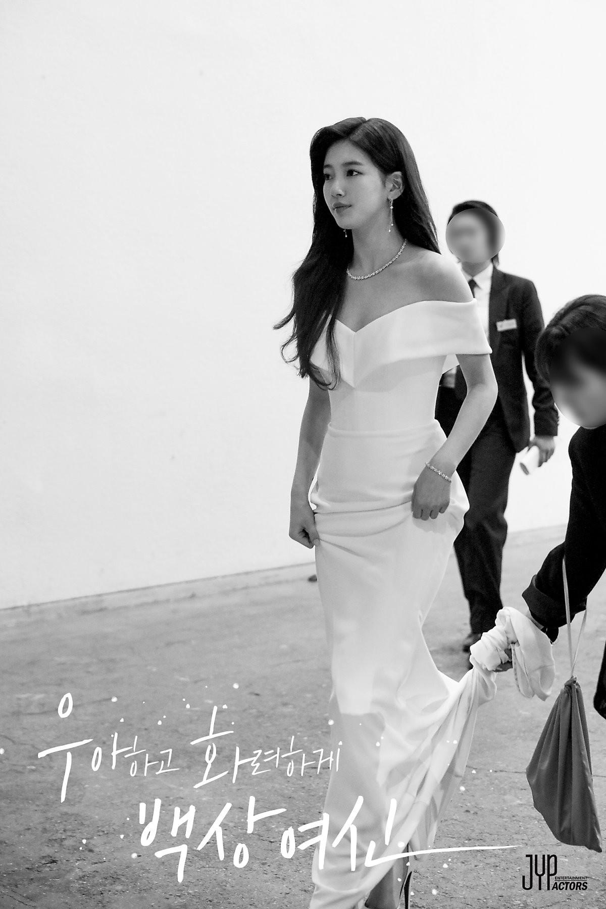 Hình hậu trường nóng hổi của Suzy tại Baeksang: Sải bước ở hầm để xe mà sang như bà hoàng, đẹp hơn cả đi thảm đỏ - Ảnh 8.