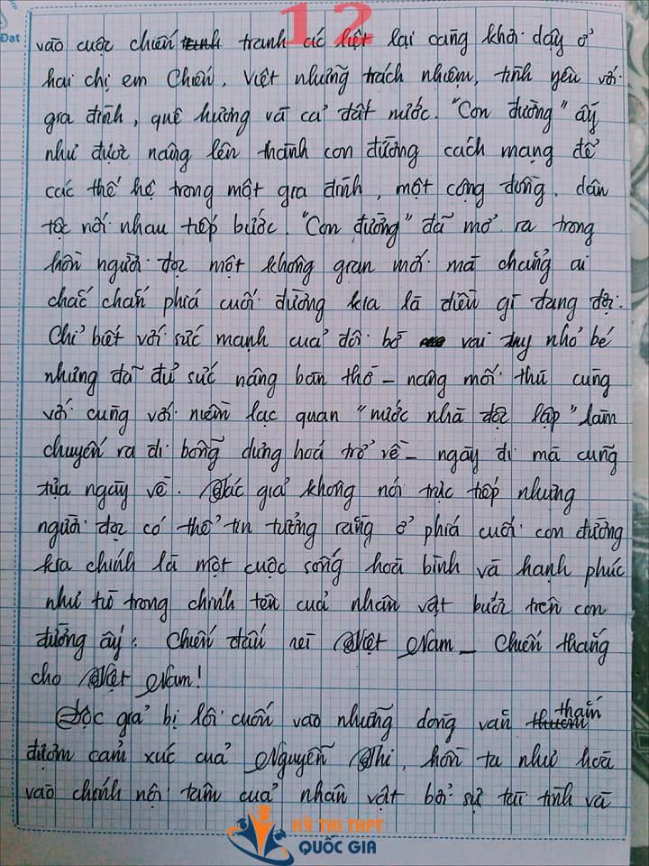 Bài văn 9,5 điểm về tình cảm gia đình khiến cô giáo phải thốt lên: Mọi ngôn từ đều trở nên bất lực! - Ảnh 12.