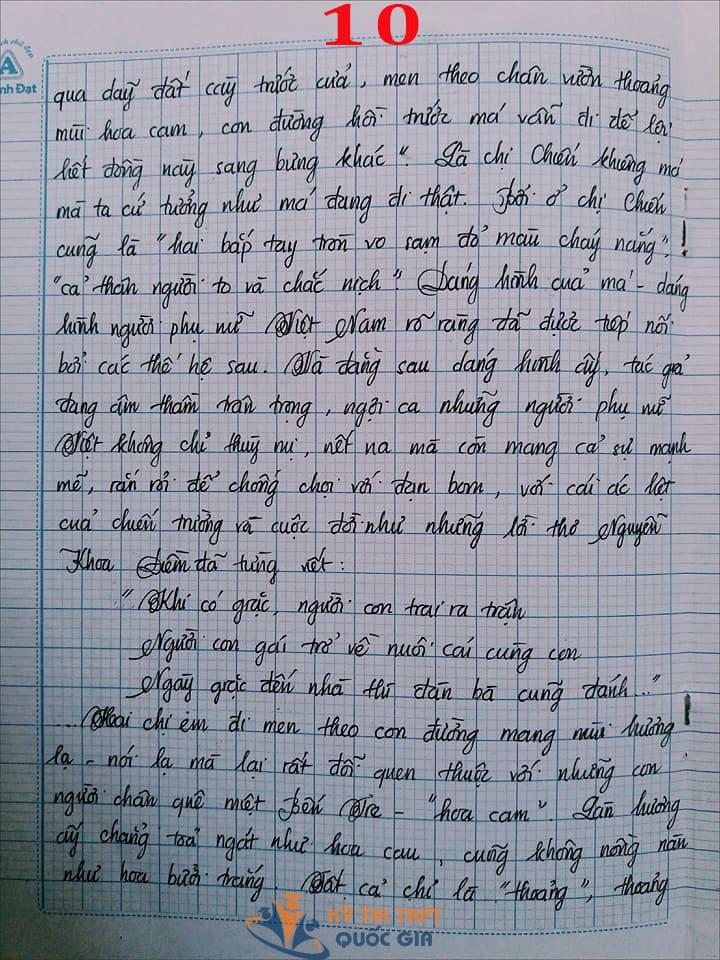 Bài văn 9,5 điểm về tình cảm gia đình khiến cô giáo phải thốt lên: Mọi ngôn từ đều trở nên bất lực! - Ảnh 10.