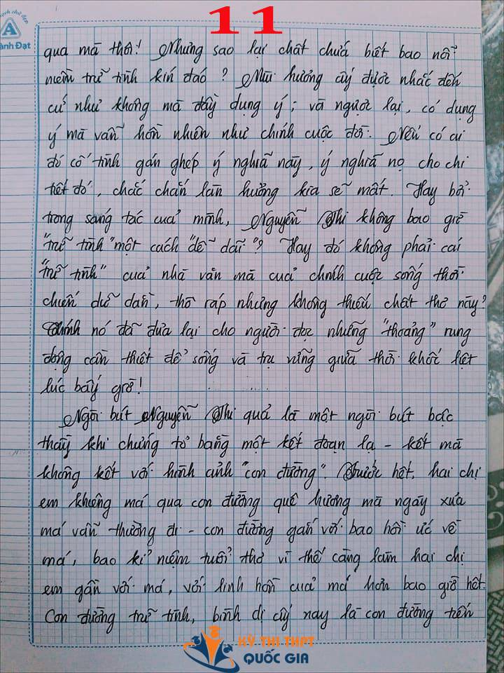 Bài văn 9,5 điểm về tình cảm gia đình khiến cô giáo phải thốt lên: Mọi ngôn từ đều trở nên bất lực! - Ảnh 11.
