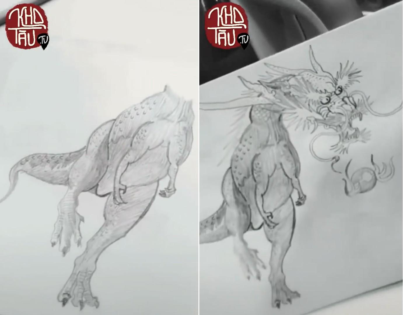 Tài năng có hạn nhưng vẫn thích thể hiện, anh trai vẽ rồng giúp em gái và cái kết cười ra nước mắt - Ảnh 7.
