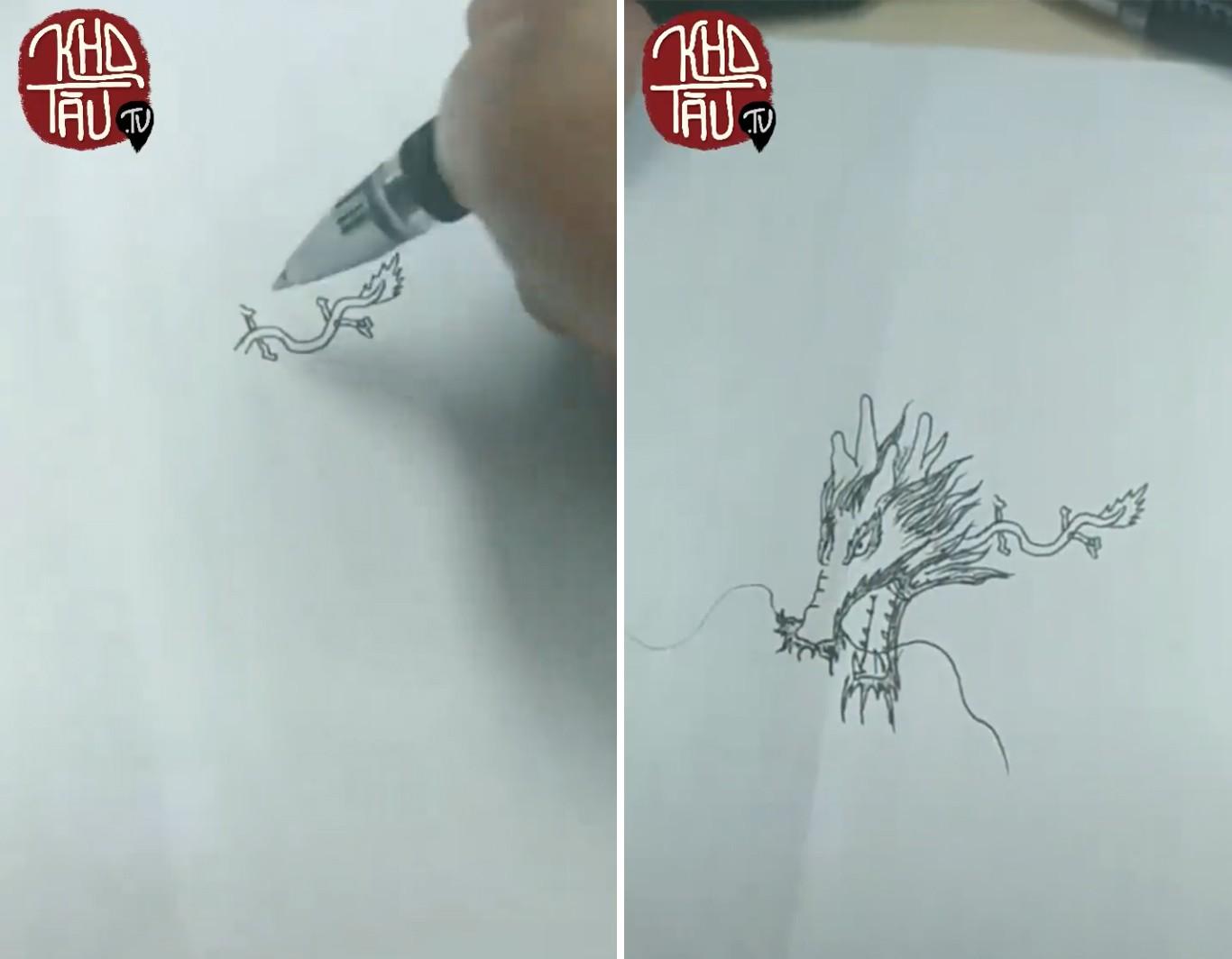 Tài năng có hạn nhưng vẫn thích thể hiện, anh trai vẽ rồng giúp em gái và cái kết cười ra nước mắt - Ảnh 11.