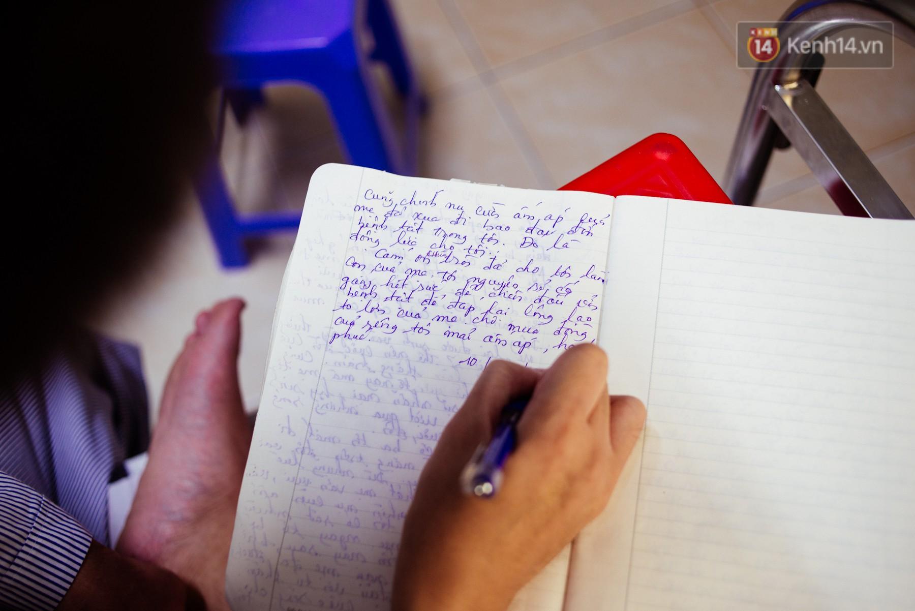 Trang nhật ký xúc động về mẹ của cậu trai bị liệt nửa người và tâm sự của những đứa con không còn mẹ - Ảnh 2.