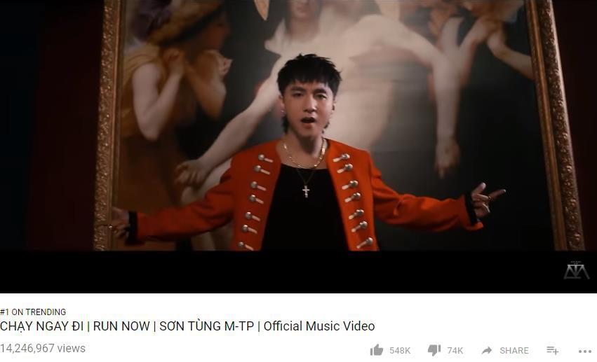 Chưa vượt được BTS nhưng Sơn Tùng M-TP đã phá kỉ lục MV solo Kpop đạt 10 triệu lượt view nhanh nhất lịch sử - Ảnh 2.