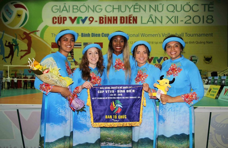 VTV Bình Điền Long An đánh bại Est Cola Thái Lan trận mở màn - Ảnh 3.