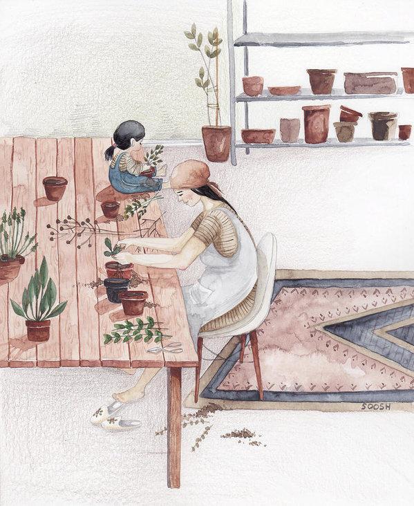 Ngày của Mẹ: Cùng ngắm bộ tranh về những điều thiêng liêng nhất dành cho con nhưng chưa bao giờ mẹ kể - Ảnh 6.