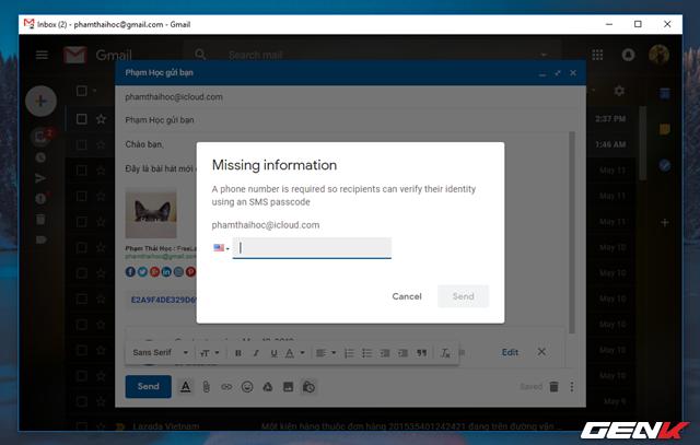 Đã có tính năng gửi email bí mật trong Gmail, và đây là cách sử dụng - Ảnh 9.