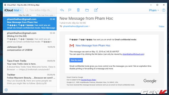 Đã có tính năng gửi email bí mật trong Gmail, và đây là cách sử dụng - Ảnh 10.