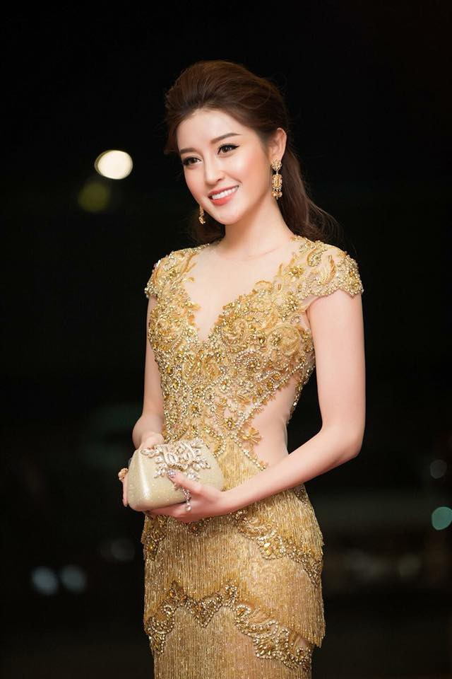 Vượt mặt nhiều người đẹp, Huyền My lọt top 32 Hoa hậu của các Hoa hậu 2017 - Ảnh 1.
