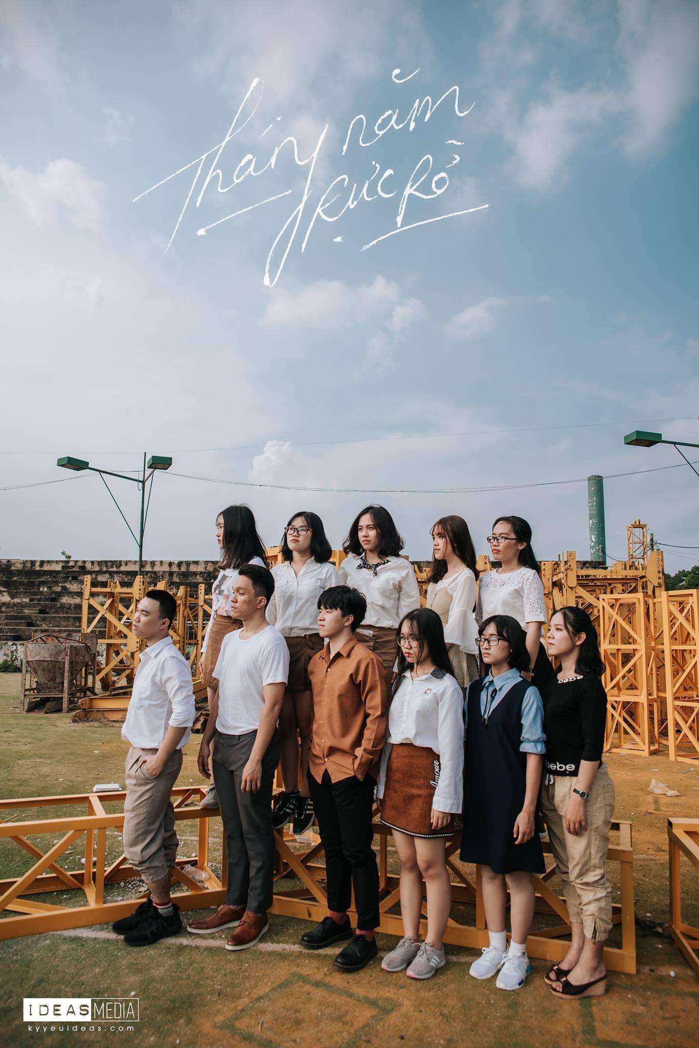 HS trường Trưng Vương Sài Gòn chụp ảnh kỷ yếu theo phong cách Phía trước là bầu trời - Ảnh 10.