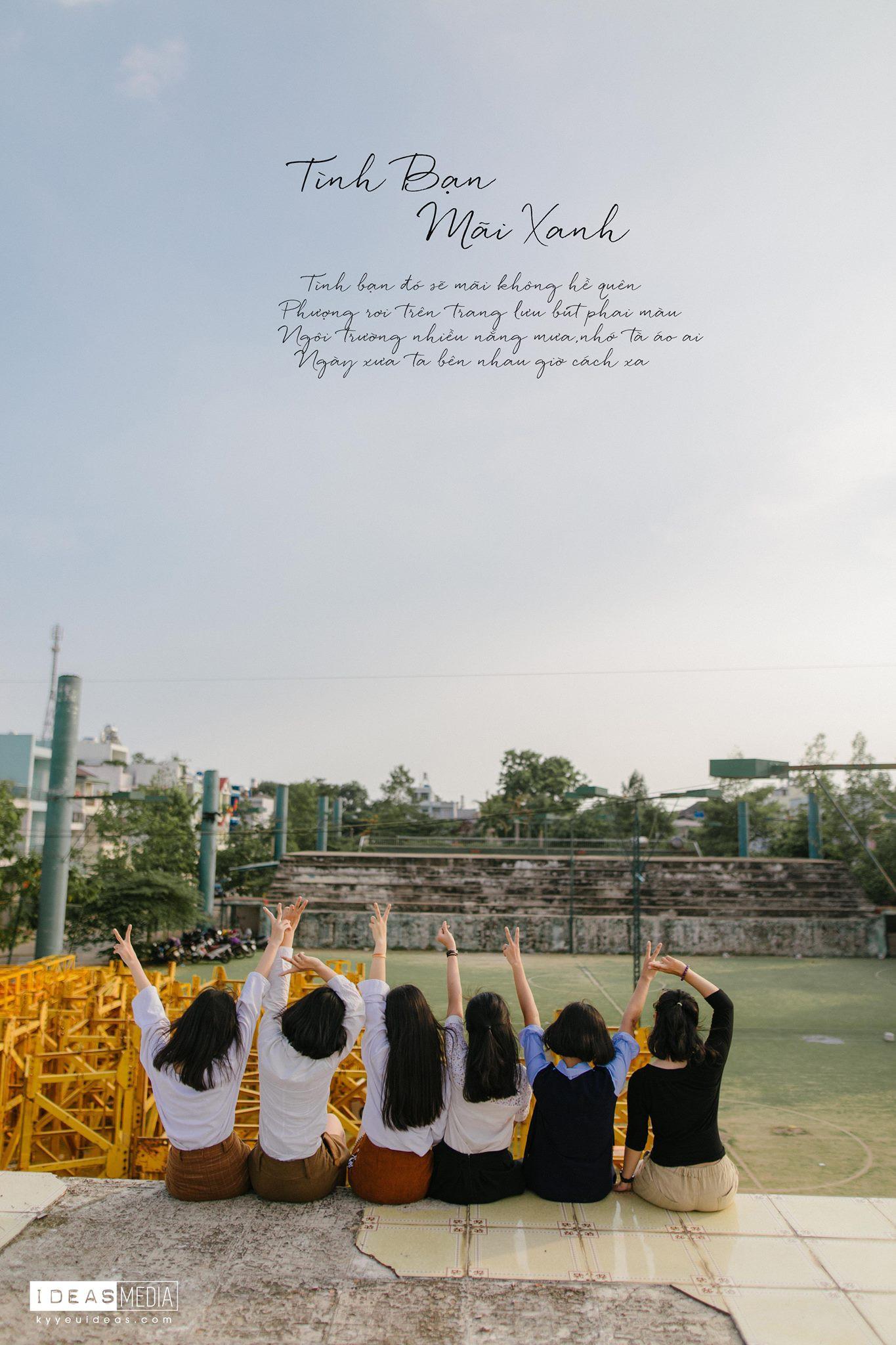 HS trường Trưng Vương Sài Gòn chụp ảnh kỷ yếu theo phong cách Phía trước là bầu trời - Ảnh 9.