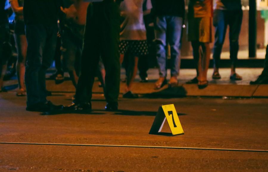 Hiện trường vụ án mạng kinh hoàng trên đường CMT8 khiến 6 hiệp sĩ đường phố bị băng cướp đâm thương vong - Ảnh 8.