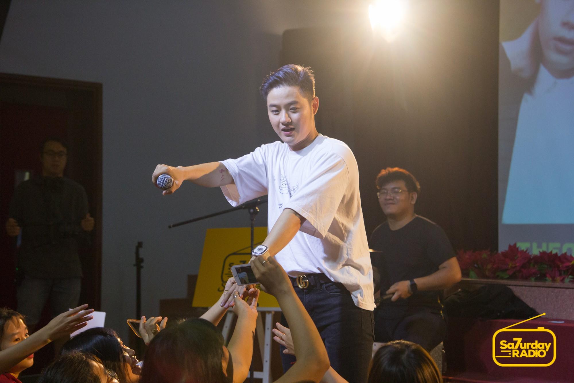 School Tour: Thanh Duy kể hết tật xấu bạn thân, Đại Nhân thẳng thắn đối diện khi bị nói đã qua thời nên không còn hit - Ảnh 3.
