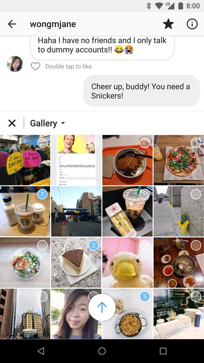 Instagram lại lộ tẩy thêm tính năng bị giấu: Hashtag cầu vồng đổi màu từng chữ, cải tiến Direct Message... - Ảnh 4.