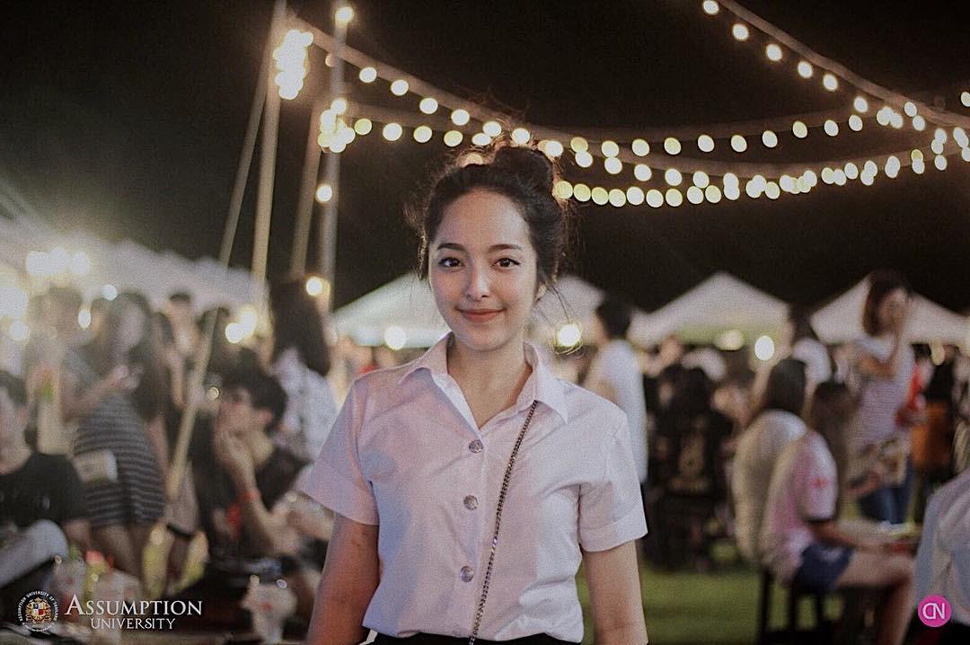 Ở Thái Lan cũng có một ngôi trường mà nơi đó đi 3 bước là gặp trai xinh gái đẹp - Ảnh 12.