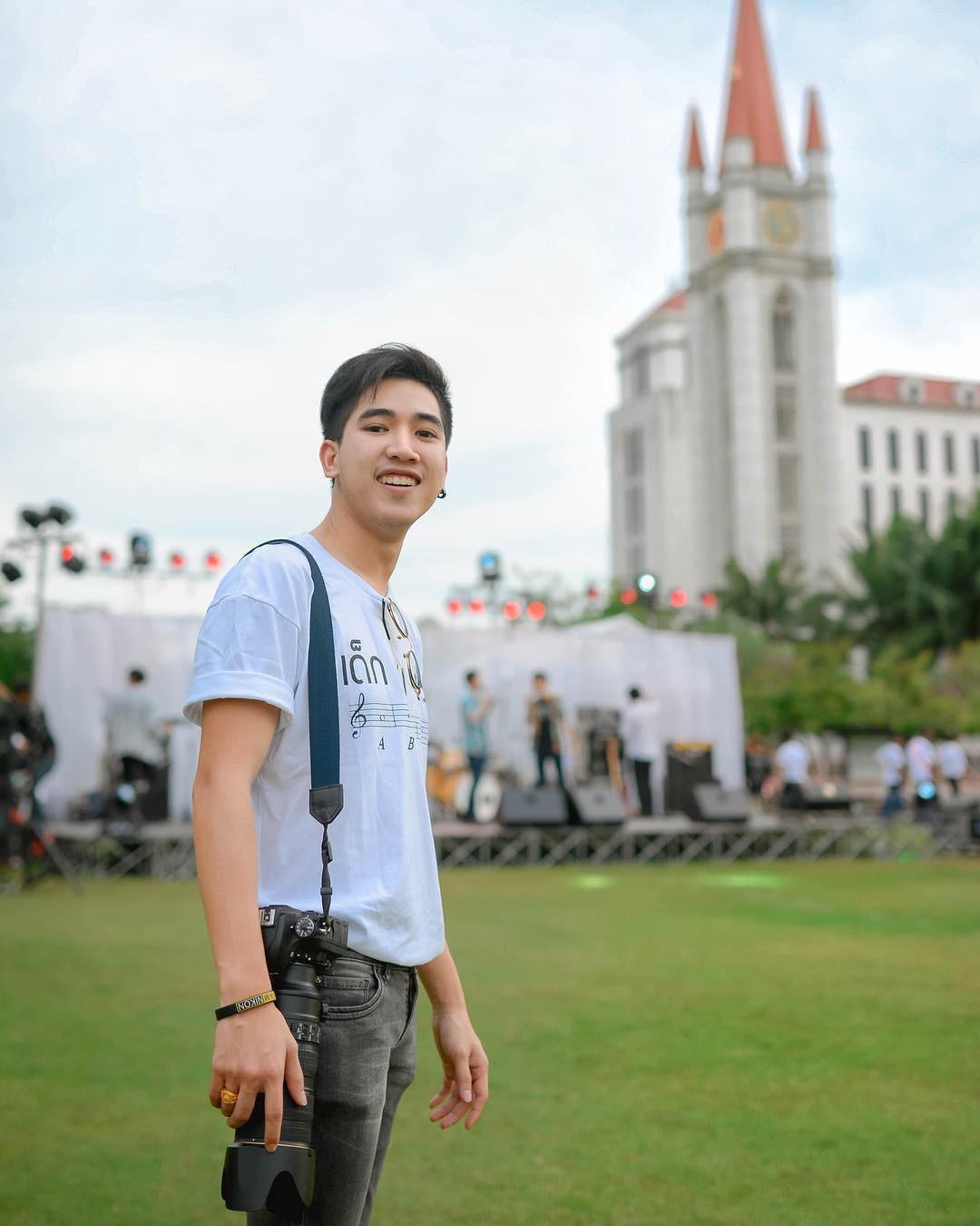 Ở Thái Lan cũng có một ngôi trường mà nơi đó đi 3 bước là gặp trai xinh gái đẹp - Ảnh 15.