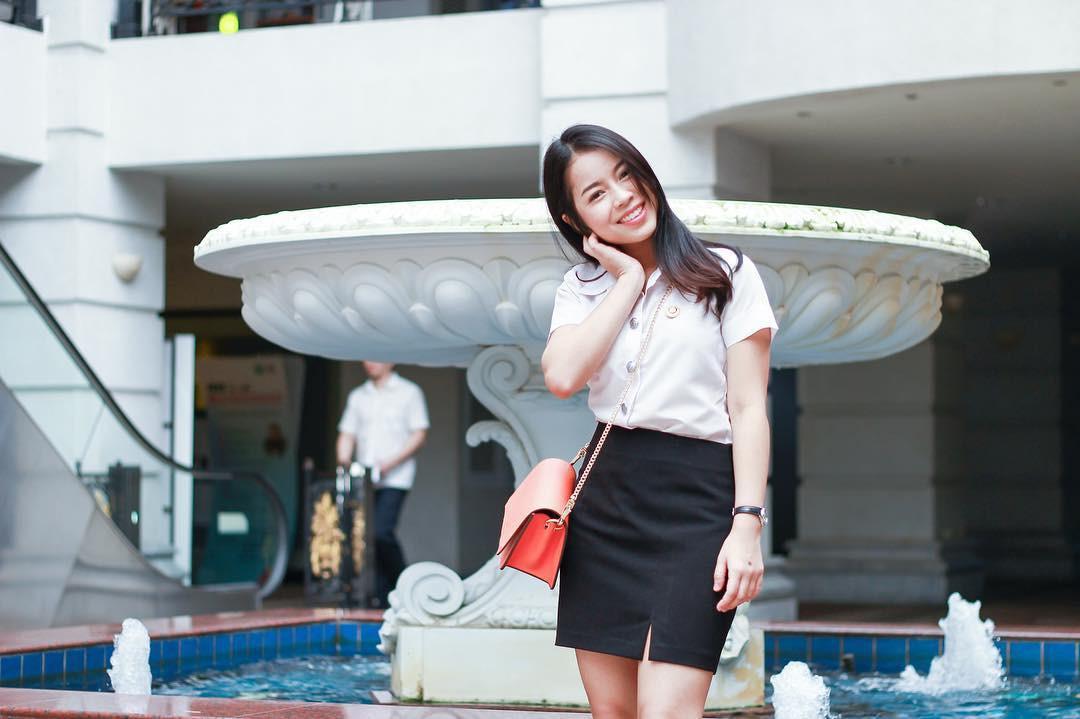 Ở Thái Lan cũng có một ngôi trường mà nơi đó đi 3 bước là gặp trai xinh gái đẹp - Ảnh 11.