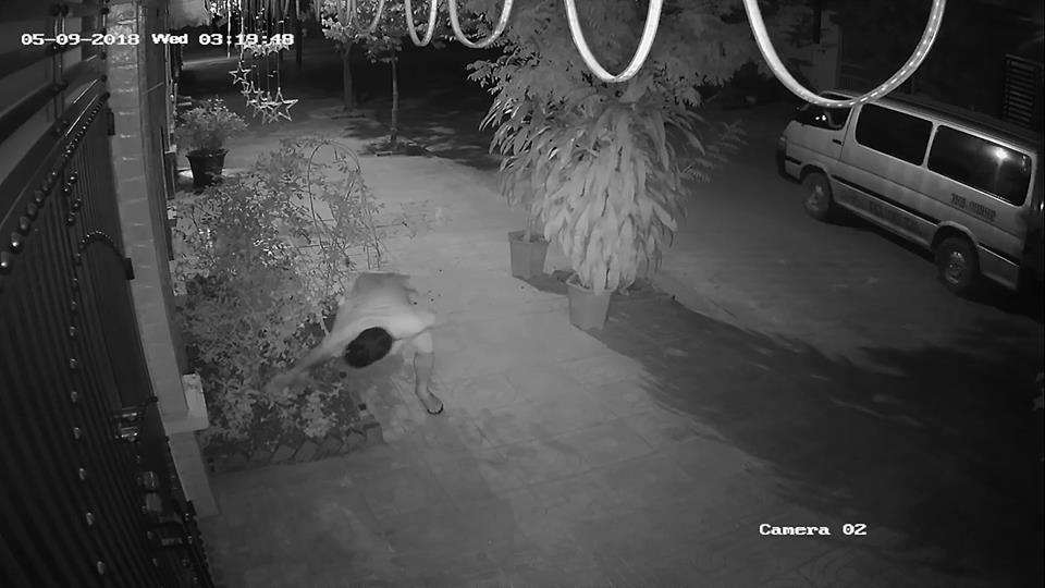 Clip: 2 thanh niên đi ô tô nhổ trộm cây hoa hồng trồng ngoài cửa, đã thế còn vứt đất cát tung tóe ra vỉa hè - Ảnh 2.