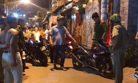 Bắt thêm 1 nghi can liên quan vụ đâm 5 hiệp sĩ thương vong ở Sài Gòn - Ảnh 1.