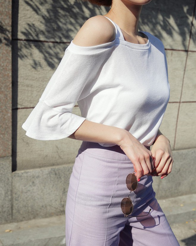5 kiểu váy áo vừa mát vừa xinh giúp các nàng giấu nhẹm bắp tay to, tha hồ tung tăng bất chấp trời nắng nóng - Ảnh 14.