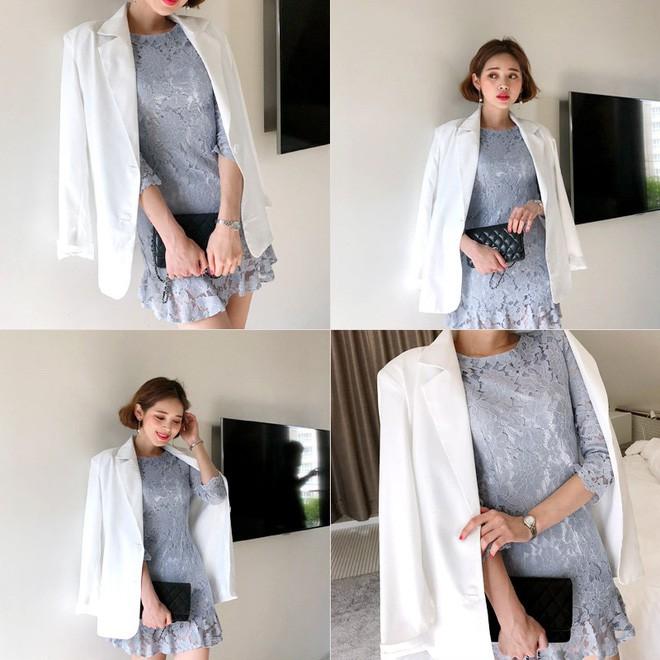 9 gợi ý mặc đồ với chất liệu ren mỏng mát cho nàng công sở những ngày trời nắng nóng - Ảnh 9.