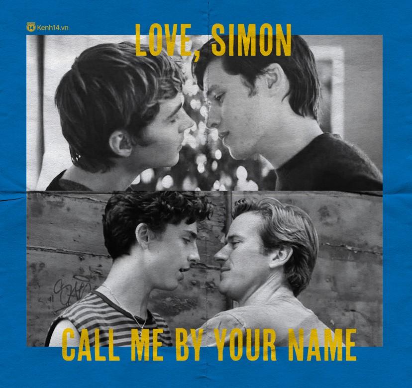 Từ Call Me By Your Name đến Love, Simon: Tiếng yêu thổn thức trong từng câu thoại - Ảnh 1.