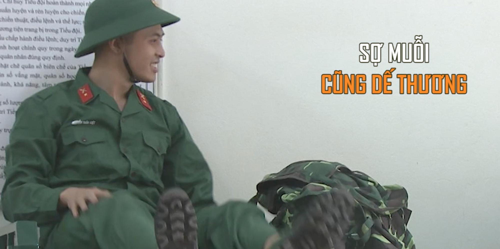 Sao nhập ngũ: Mới lên sóng tập đầu, Gin Tuấn Kiệt đã gây chú ý vì nhiều khoảnh khắc cực cute - Ảnh 5.