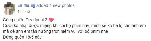 Fan Việt cười sảng sau khi xem bom tấn hài bựa Deadpool 2 - Ảnh 6.