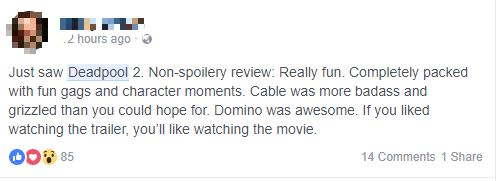Fan Việt cười sảng sau khi xem bom tấn hài bựa Deadpool 2 - Ảnh 7.