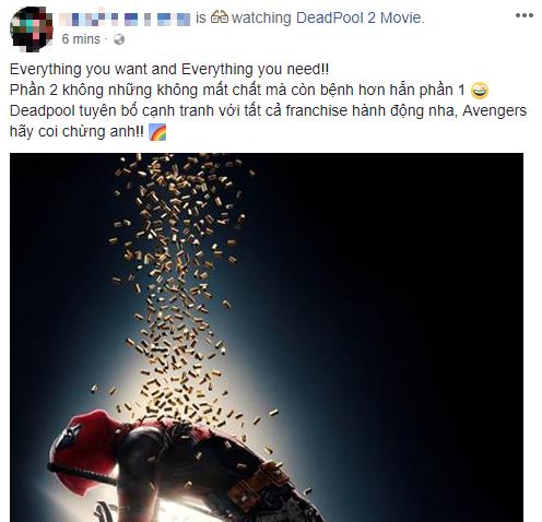 Fan Việt cười sảng sau khi xem bom tấn hài bựa Deadpool 2 - Ảnh 11.