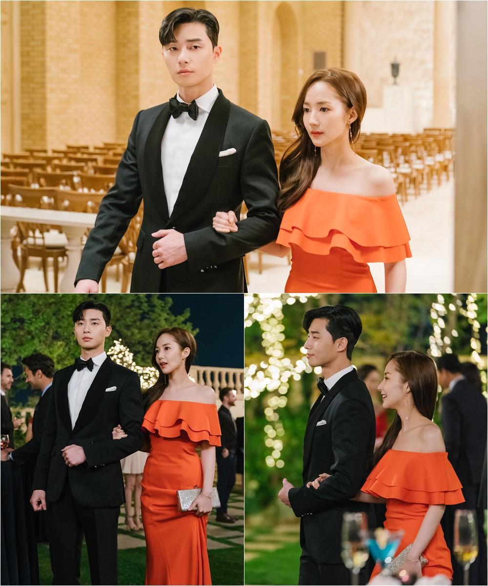 Khổ thân Park Seo Joon, ra sức bắn tim cho Park Min Young nhưng bị hắt hủi chỉ vì.. cái tai - Ảnh 11.