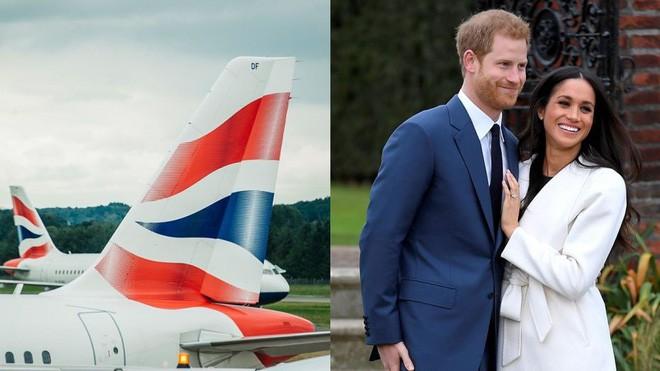 Đúng ngày diễn ra đám cưới hoàng gia, hãng hàng không British Airways sẽ làm một điều bất ngờ chưa từng thấy - Ảnh 1.