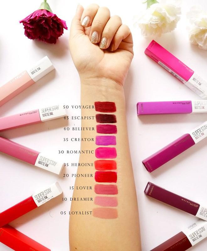 10 thỏi son môi lâu trôi, bền màu cả ngày mà còn lên tông siêu xinh rất hợp để dùng trong mùa hè - Ảnh 18.