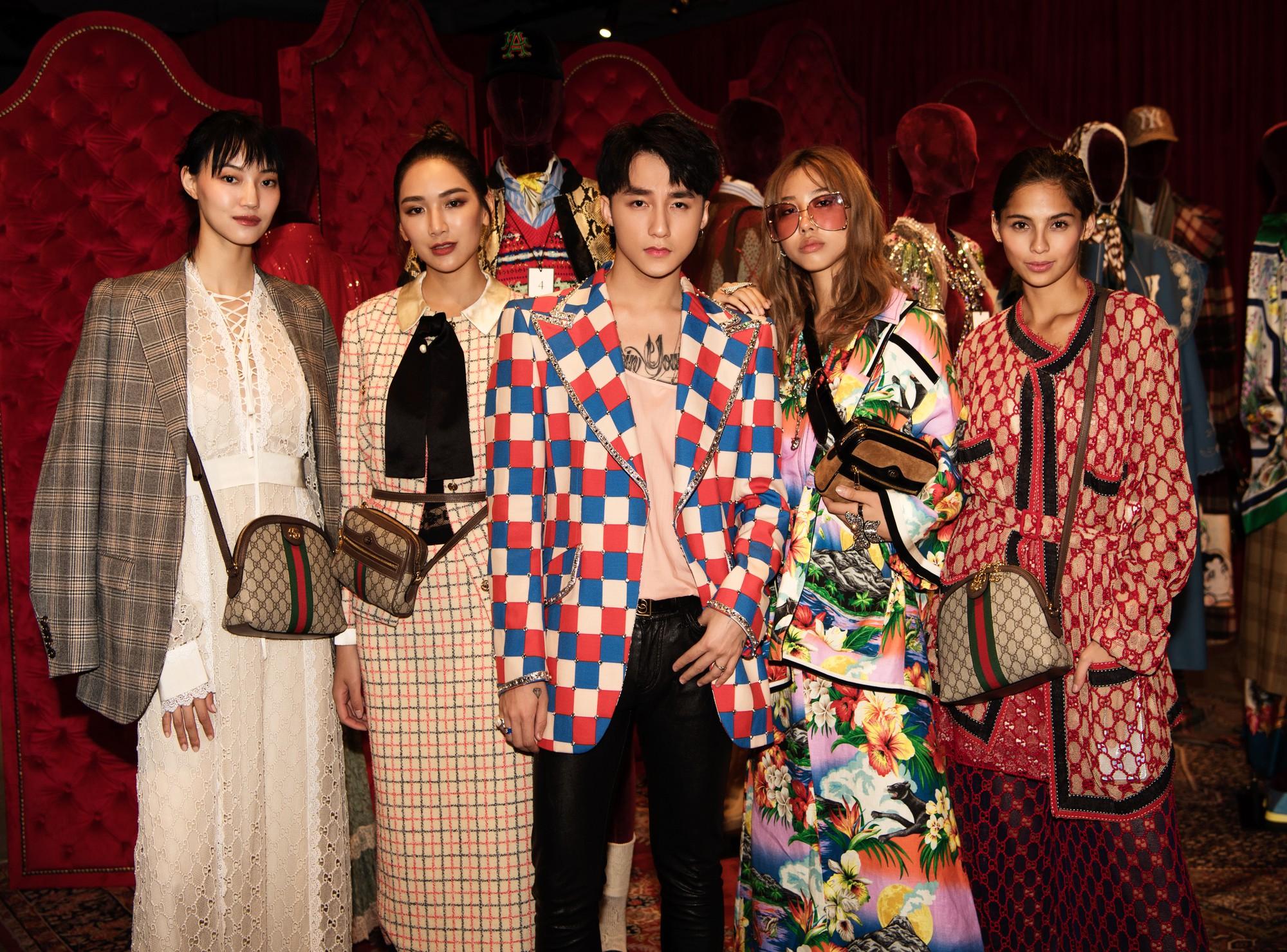 Chưa ấm chỗ với MV mới, Sơn Tùng đã vi vu qua tận Hong Kong để dự triển lãm của Gucci - Ảnh 3.